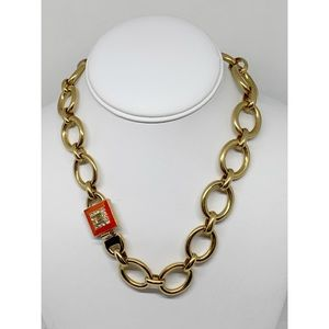 Banana Republic Gold Link Chain Necklace